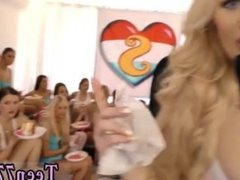 Teen fisting compilation hd 40 gals came over to soiree and celebrate