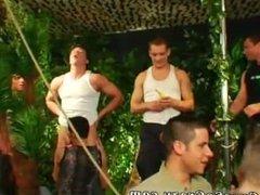 Schoolboys gay twink movies Dozens of studs go bananas for bananas at