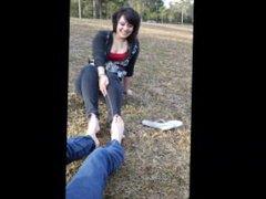 Footsie Tickle Fight