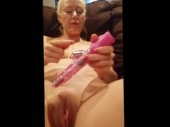 Mormon wife fists herself and receives deep pussy creampie
