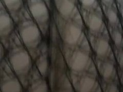 Russian wife in fishnet - view my uploads for all sexy movies