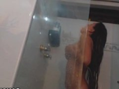 Big ass latina wants her ass fucked in the bathroom