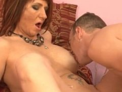 Milf With Big Tits And A Boy