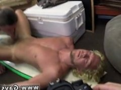 Gay close up blowjob movieture Blonde muscle surfer boy needs cash