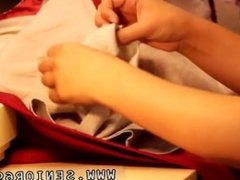 Chubby blonde teen interracial Latoya makes clothes, but she enjoys being