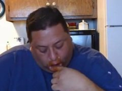 TAKING ON A FAT SAUSAGE