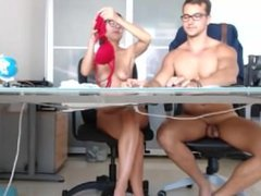 Hot Couple on Webcam 3 Amateur Blowjob Fuck