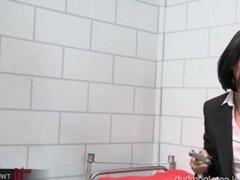 Prison Slut Jodi Taylor Anal Destruction by Lesbian Asian MILF