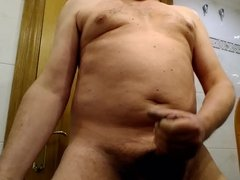 Handjob and cum 1