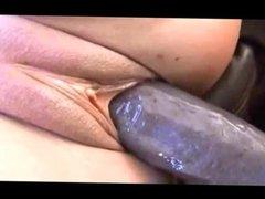 BBC breeding a white pussy