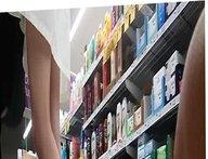 Travel - NZ - Upskirt - Supermarket