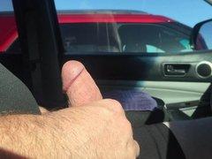 Car Cock Flash - Milf - Cum