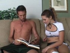 Claire Heart gets a Sex Ed session from her Dad