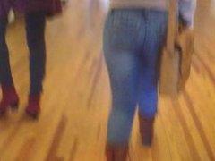 Candid Latina Teen Dance Hall 00029