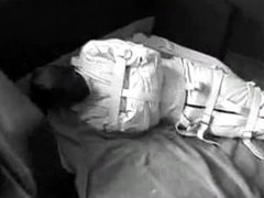 Trapped in Straitjacket and Gagged Pt 1