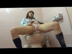 Japan schoolgirl wet masturbation 15