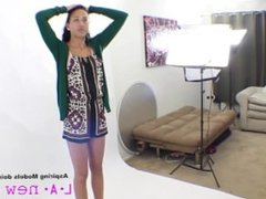 TALL SUPERMODEL FUCKED AT CASTING AUDITION SHOOT