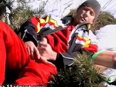 Very beauty gay sex xxx download first time Roma Smokes In The Snow