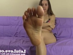 You get to lick and clean my dirty stinky feet and asshole