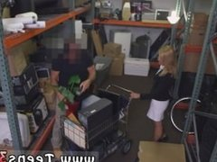 Lesbian threesome tits Hot Milf Banged At The PawnSHop