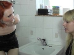 Ariel Anderssen ties up and gags Anita DeBauch