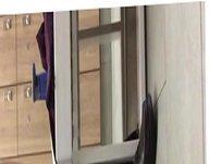 Risky stroker in the locker room