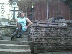 Johanna on Steps