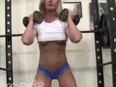 Sexy muscle beauty