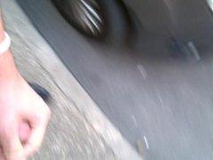Jerk off in a street