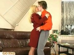 Mature Older Woman with Younger Lover 01
