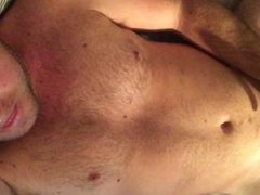 Cumming on chest