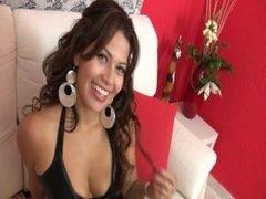 Casting porno a una guapa y cachonda ecuatoriana