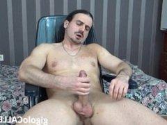 Male stripper boy masturbates webcam show