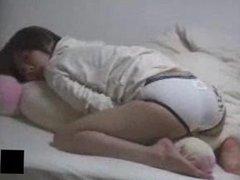 Mia Caught Masturbating With Teddy Bear - www.bestcams.pro