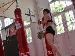 Maria Wattel, Tall Female Bodybuilder _ Martial Arts