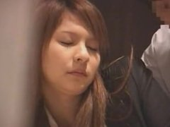 Drunk Japanese office girls get groped
