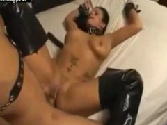 Pounding in every hole of slave slut Serena