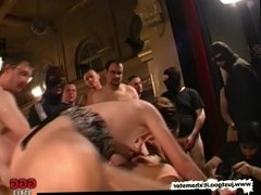 German Goo Girls - Young short haired slut gets shared