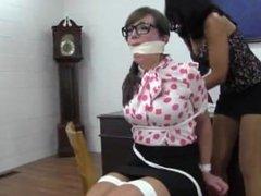teacher liz tied up