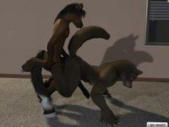 horse yiff gay