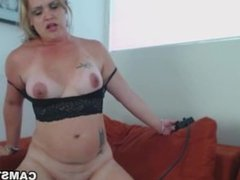 Solo girl riding the sybian like a cowgirl on max speed