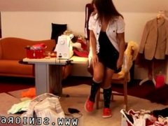 College teen hd Latoya makes clothes, but she loves being naked