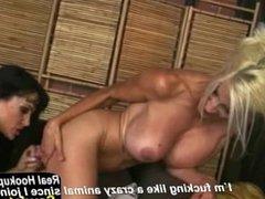 Euro Blonde Puma Swede Fucks Lisa Ann
