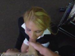 Blonde fake tits anal Hot Milf Banged At The PawnSHop