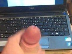Masturbing with porn