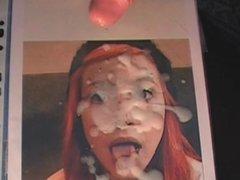 amateur redhead facial destruction