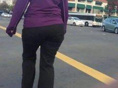 Follow that GILF Ass Walk 2