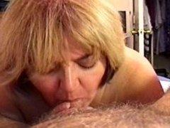 MILF Wife Sucking & Swallowing