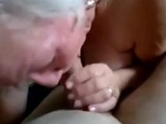 Granny Giving Oral
