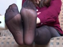 asian pantyhose feet soles